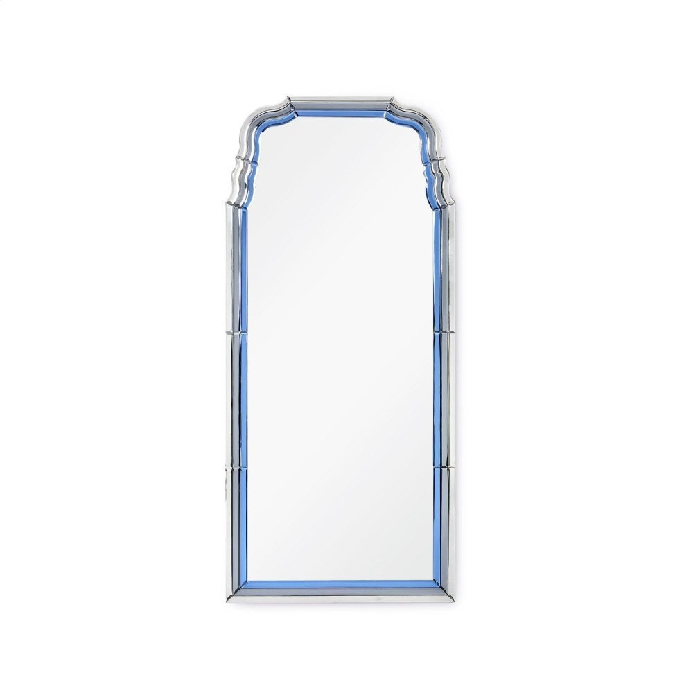Anne Mirror, Sapphire Blue and Gray