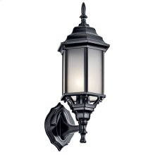 "Chesapeake 17"" 1 Light Wall Light Black Painted"