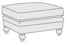 Hutton Ottoman in Mocha (751) Product Image