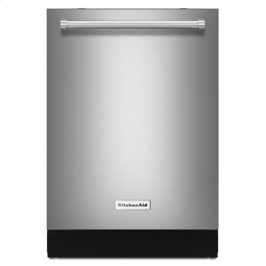 Kitchenaid44 dBA Dishwasher with Dynamic Wash Arms and Bottle Wash - Stainless Steel