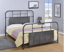 Cheriton Bed - Queen, Antique Black Finish