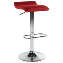 Fabia II Gas Lift Stool in Red, 2pk