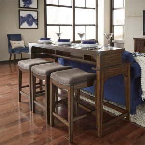 Liberty Furniture Industries4 Piece Console Set (1-Console 3-Stools)
