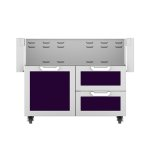 "Hestan42"" Hestan Outdoor Tower Cart with Door/Drawer Combo - GCR Series - Lush"