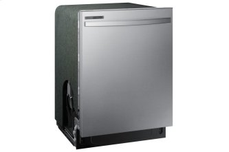 Dishwasher with Hybrid Tub in Stainless Steel