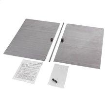 Damper Kit for Model L3500EXL Ventilator. Twin damper flaps and mounting hardware