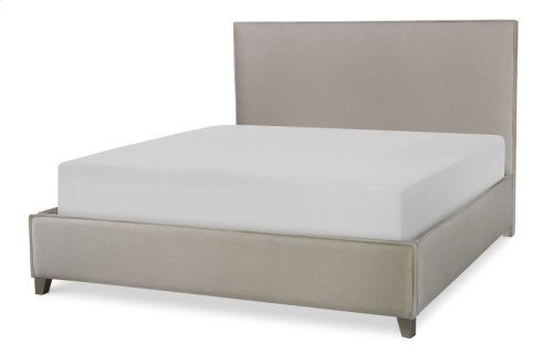 Hygge by Rachael Ray Complete Upholstered Bed, King 6/6
