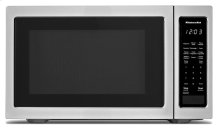"""21 3/4"""" Countertop Microwave Oven with PrintShield Finish - 1200 Watt - Black Stainless"""