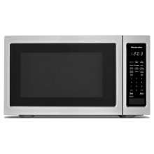 "21 3/4"" Countertop Microwave Oven - 1200 Watt - Stainless Steel"