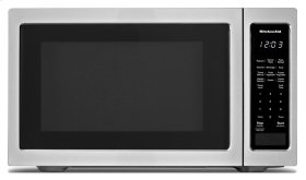 "21 3/4"" Countertop Microwave Oven with PrintShield Finish - 1200 Watt - Black"