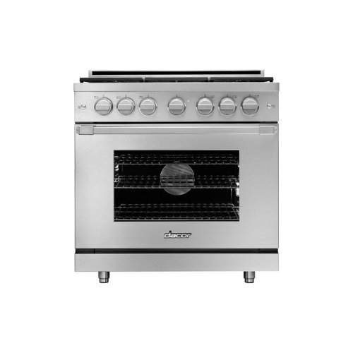"""36"""" Heritage Gas Pro Range, DacorMatch Natural Gas/High Altitude"""