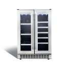 "Lorraine 24"" French door beverage center. Product Image"