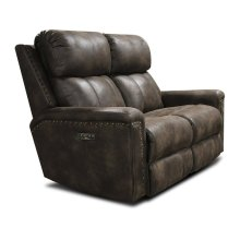 EZ Motion Double Reclining Loveseat with Nails E1C03HN