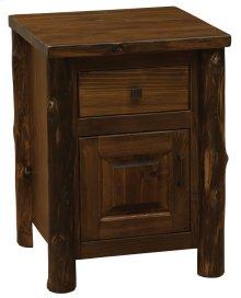 Enclosed Nightstand - Modern Cedar