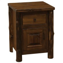 Enclosed Nightstand - Modern Cedar