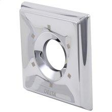 Chrome Escutcheon - 6-Setting Diverter
