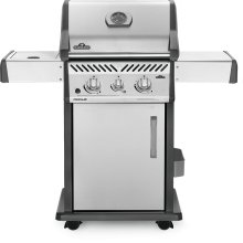 Rogue 365 SIB with Infrared Side Burner , Stainless Steel , Propane