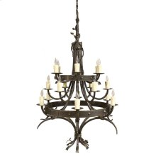 Enchanted Forest Iron Chandelier