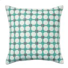 Starboard Pillow, AQUA, 22X22 Product Image