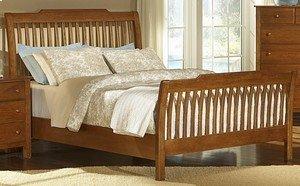 Appalachian Hardwood Collection - Rake Sleigh Bed
