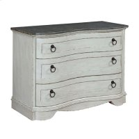 Hidden Treasures Curved Accent Cabinet Product Image