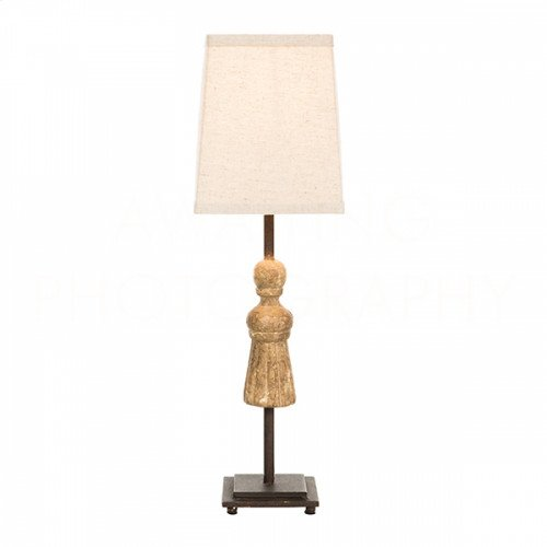 Tassel Gold Gilt Table Lamp