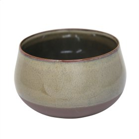 "Ceramic 8"" Planter, Sage Green"