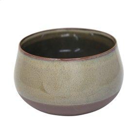 """Ceramic 8"""" Planter, Sage Green"""