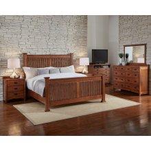 King Slat Bed