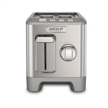 Two Slice Toaster - Brushed Stainless Knob