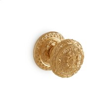 Antique Gold Louis XVI Door Knob - Small