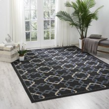 Caribbean Crb16 Charcoal Rectangle Rug 9'3'' X 12'9''