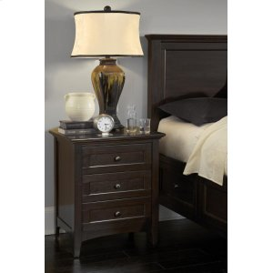 A America3-Drawer Nightstand