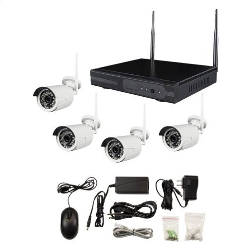 SPY-NVR4720W - 4 Channel Router and Wireless Camera Kit