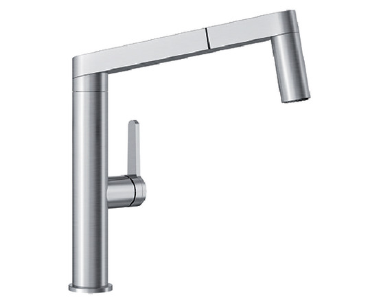 402043 in Stainless Steel by Blanco in New Milford CT - Blanco Panera Kitchen Faucet - stainless steel  sc 1 st  Modern Plumbing Supply Inc. & 402043 in Stainless Steel by Blanco in New Milford CT - Blanco ...