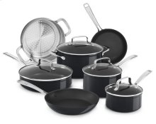 Hard Anodized Non-Stick 11-Piece Set - Black Sapphire