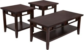 Signature Design by Ashley Logan 3 Piece Occasional Table Set
