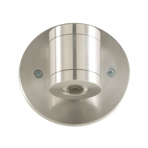 Magnum LED Wall Surface Accent Cylinder Brushed Aluminum