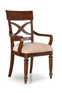 American Heritage Fabric Arm Chair