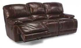 Belmont Leather Power Reclining Sofa