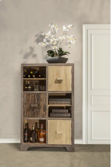 Bolero Curio With Three Door / Three Shelf Display