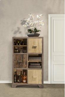 Bolero Curio With Three Door / Three Shelf Display