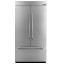 42-inch Stainless Steel Panel Kit for Fully Integrated Built-In French Door Refrigerator, Pro-Style® Stainless