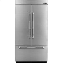 42-inch Stainless Steel Panel Kit for Fully Integrated Built-In French Door Refrigerator, Pro-Style® Stainless Handle