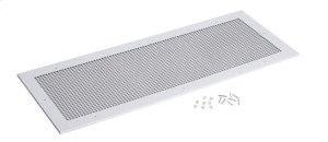"Grille Kit for Model L3500EXL Ventilator. White enameled steel grille measures 18-3/8"" x 47-1/4"""