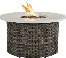 """Oasis 42"""" Round Gas Fire Pit"""