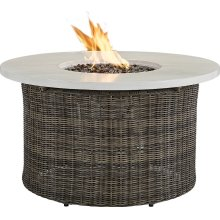 "Oasis 42"" Round Gas Fire Pit"