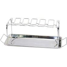 BBQ Wing Rack