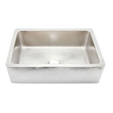 Hammered Nickel Lucca Kitchen Sink