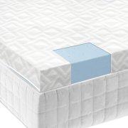 "2.5"" Gel Memory Foam Mattress Topper - Queen Product Image"